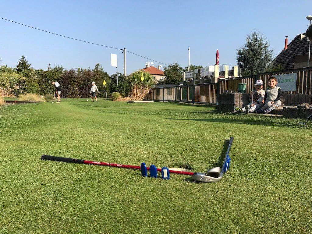 Dětské golfové tréninky