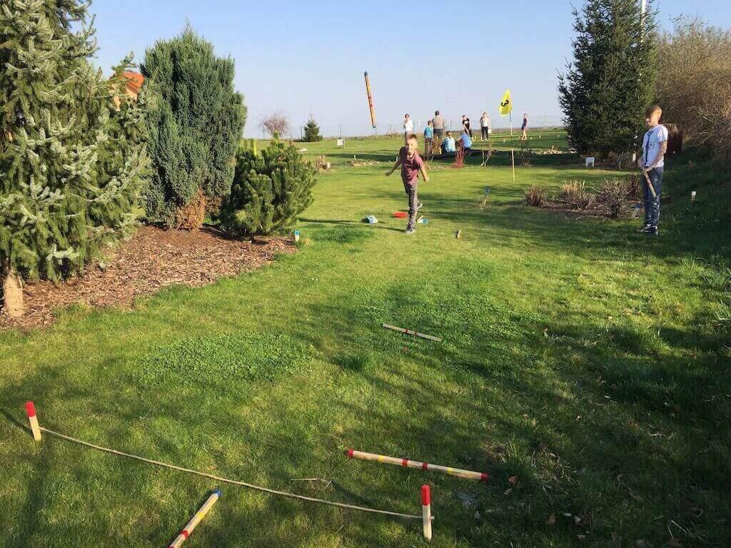 Pronájem golfového hřiště